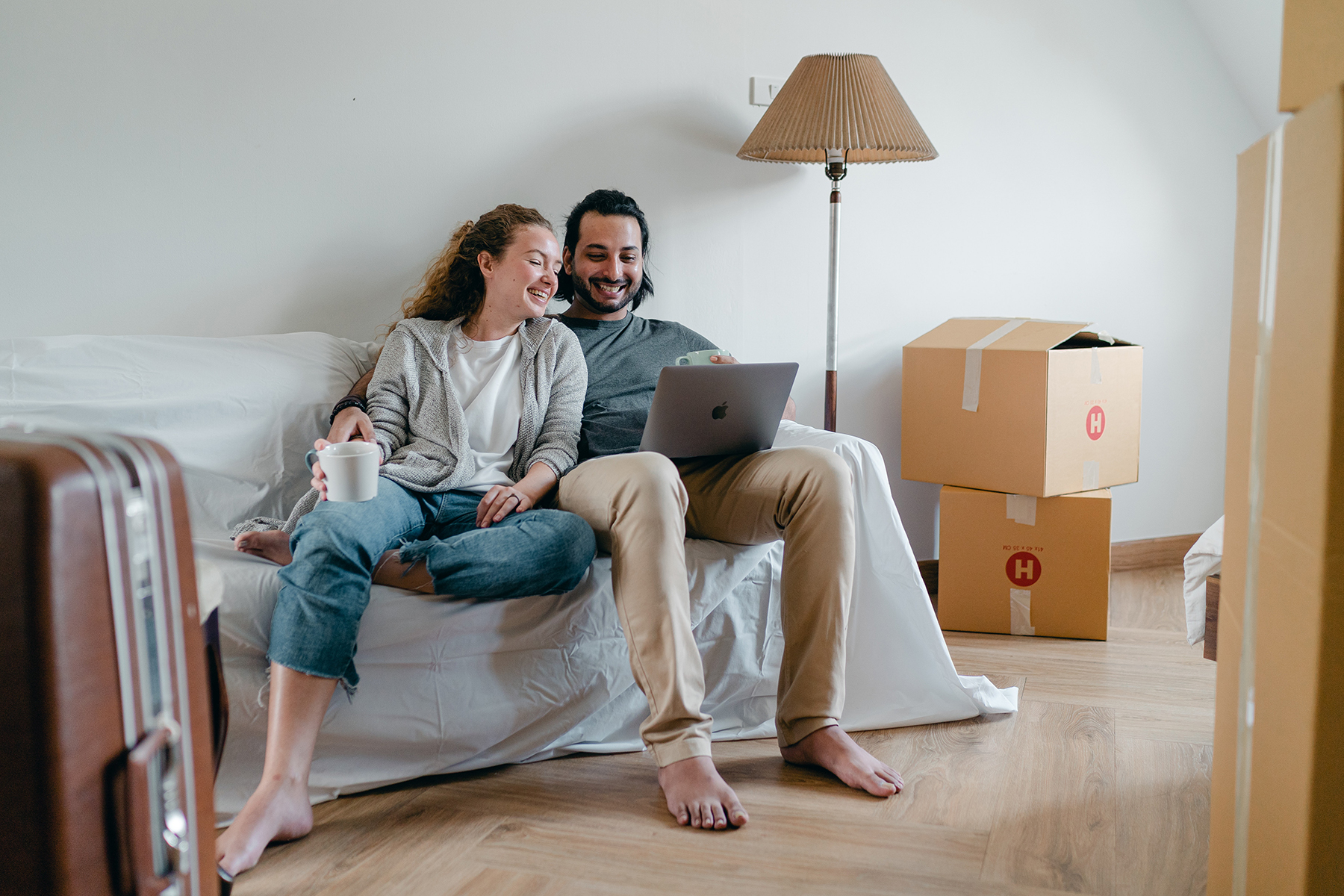 Moving Day couple